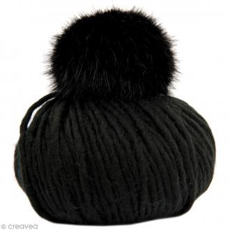 Kit Rico Design - Fashion super chunky - Bonnet jersey - Noir