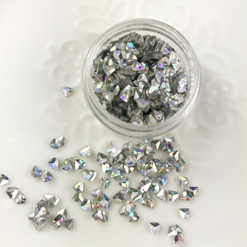 paillettes forme diamant argent pour inclusion r sine cr ation bijoux nail art r sine. Black Bedroom Furniture Sets. Home Design Ideas