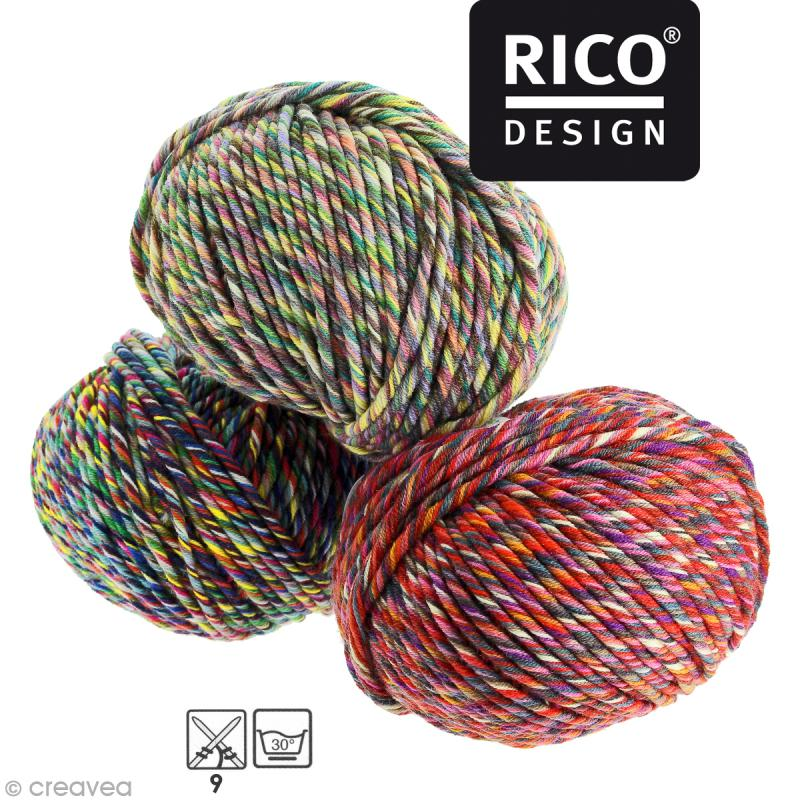 Laine Rico Design - Fashion colour touch - 100 gr - 4 coloris - Photo n°1