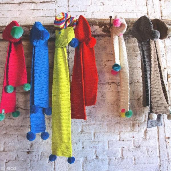 Laine Rico Design - Creative luciole réfléchissante - 100 gr - 8 coloris - Photo n°4