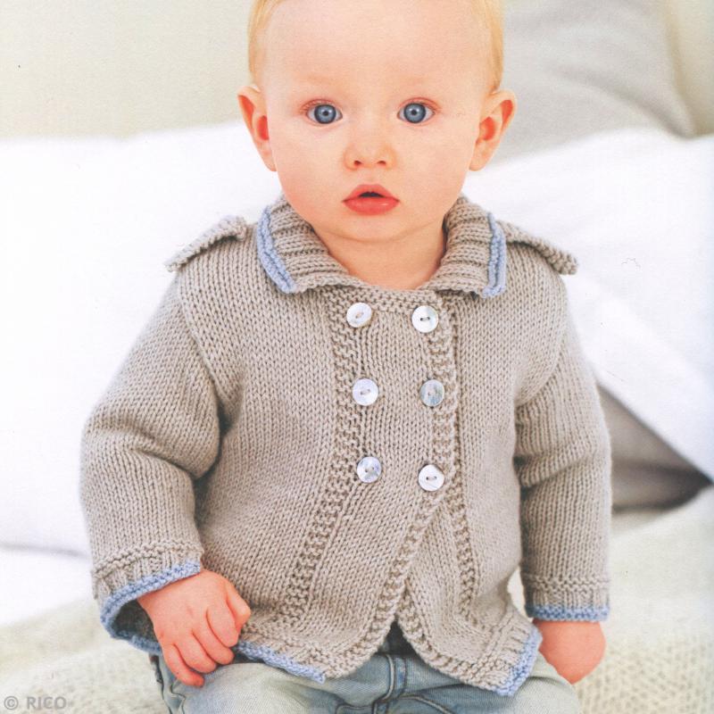 Laine Rico Design - Layette Baby classic dk - 50 gr - 41 coloris - Photo n°3