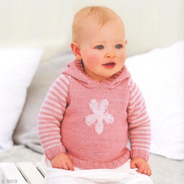 Laine Rico Design - Layette Baby classic dk - 50 g -165 m - Plusieurs coloris disponibles - Photo n°2