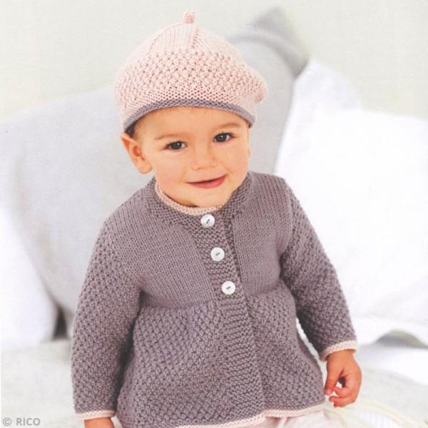 Laine Rico Design - Layette Baby classic dk - 50 g -165 m - Plusieurs coloris disponibles - Photo n°4