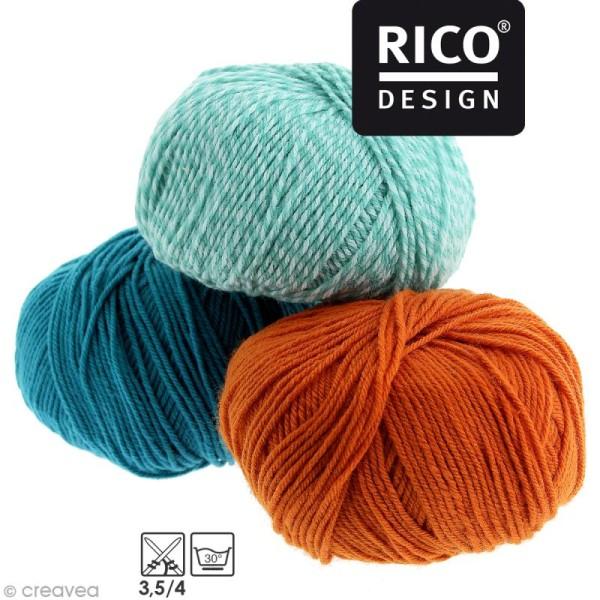 Laine Rico Design - Layette Baby classic dk - 50 g -165 m - Plusieurs coloris disponibles - Photo n°1