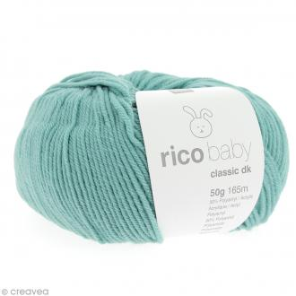 Laine Rico Design - Layette Baby classic dk - 50 gr - Bleu turquoise