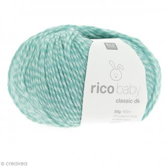 Laine Rico Design - Layette Baby classic dk - 50 gr - Bleu turquoise mix