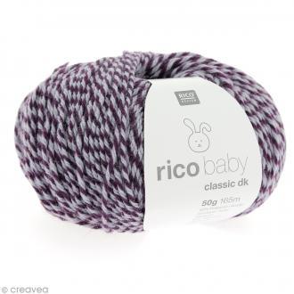 Laine Rico Design - Layette Baby classic dk - 50 gr - Violet zinzolin mix