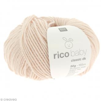 Laine Rico Design - Layette Baby classic dk - 50 gr - Rose poudré