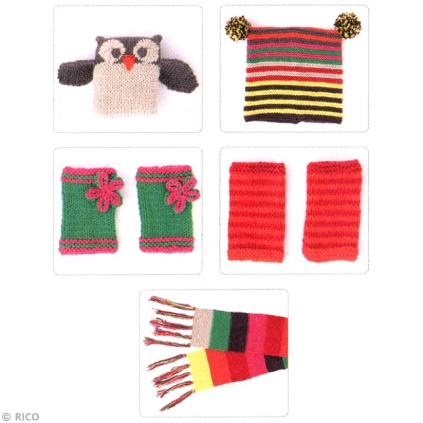 Kit Rico Design pour enfant - Mon premier tricot - Photo n°2