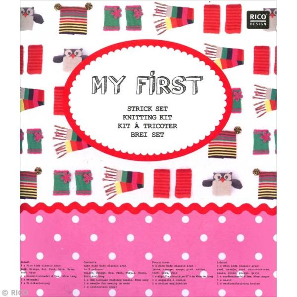 Kit Rico Design pour enfant - Mon premier tricot - Photo n°3