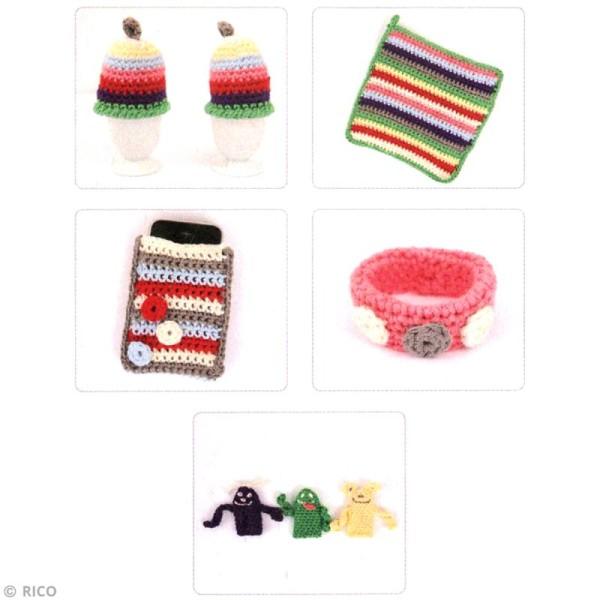 Kit Rico Design pour enfant - Mon premier crochet - Photo n°2