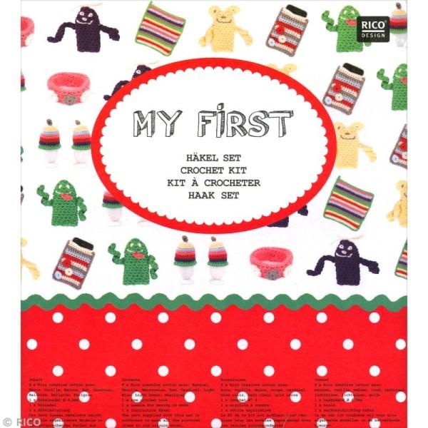 Kit Rico Design pour enfant - Mon premier crochet - Photo n°3