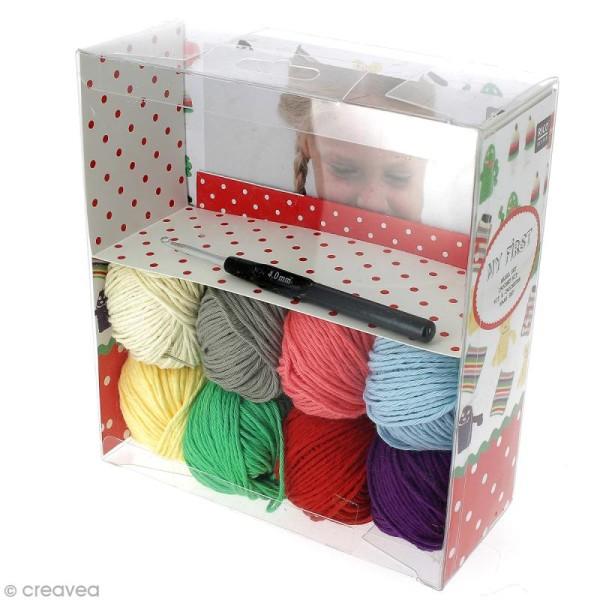 Kit Rico Design pour enfant - Mon premier crochet - Photo n°1