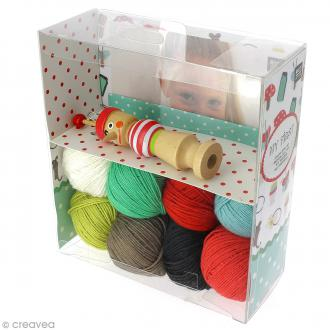 Kit Rico Design pour enfant - Mon premier tricotin