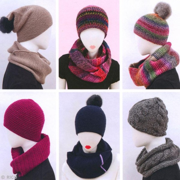 Livre Rico Design - SystemHATic - Snoods et bonnets - Photo n°2