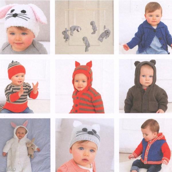 Livre Rico Design - Rico baby n°10 - Rico baby classic dk & teddy aran - Photo n°2