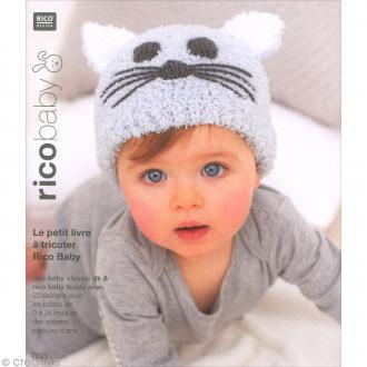Livre Rico Design - Rico baby n°10 - Rico baby classic dk & teddy aran