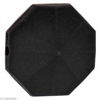 Pierre à coudre Boule Noir - 1,6 cm - 5 pcs