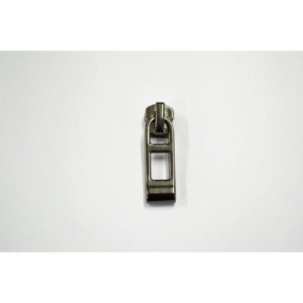 Fermeture maille brossée séparable canon de fusil:(Maille moyenne 5mm) 10cm - Photo n°1