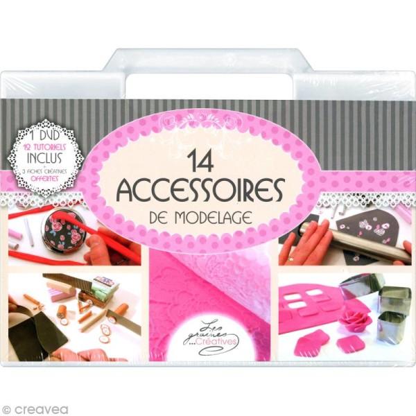Mallette 14 accessoires de modelage indispensables - Photo n°1