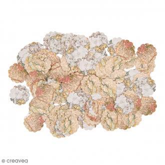 Confettis de table - Festonné - Carte - 150 pcs