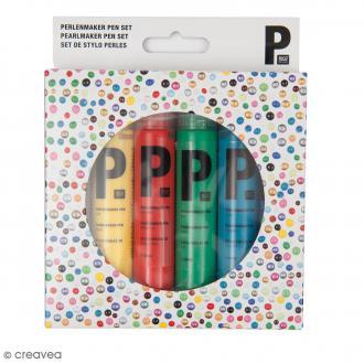 Stylo Perles 3D - Classique - 6 pcs