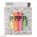 Stylo Perles 3D - Fluo - 6 pcs - Photo n°1