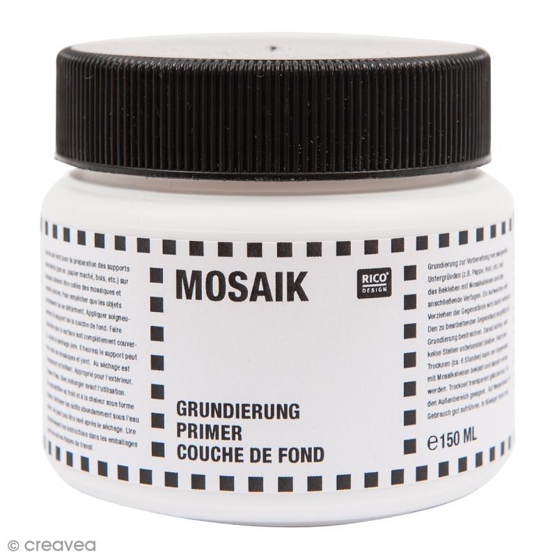 Couche de fond pour mosa que primaire d 39 accrochage 150 ml outil mosa que creavea - Primaire d accrochage pour faience ...