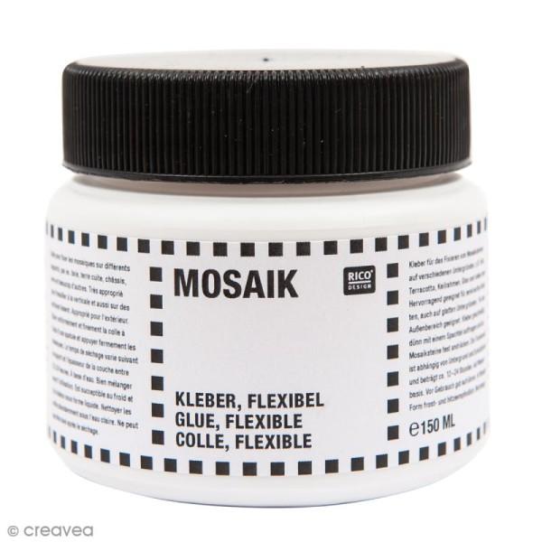 Colle flexible pour mosaïque - 150 ml - Photo n°1