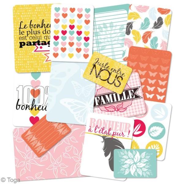 Cartes pour project life Toga - Thème Ensemble / En famille - 60 cartes assorties - Photo n°2
