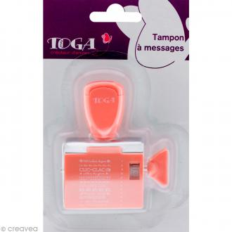 Tampon à molette Toga - Project life Projet photo - 12 messages et motifs