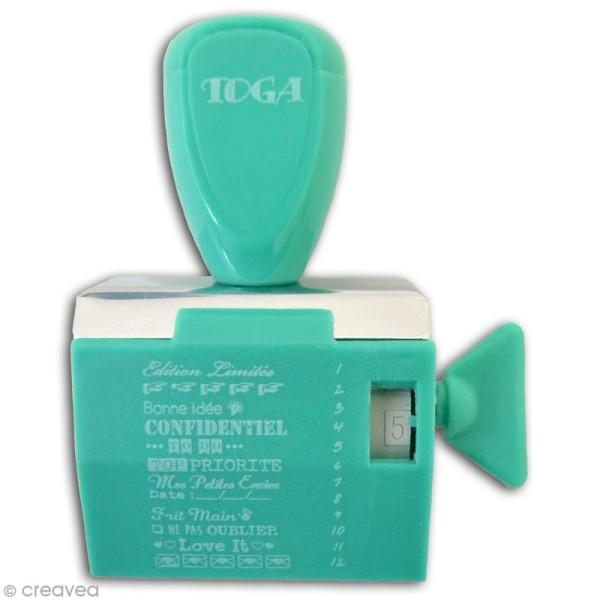 Tampon à molette Toga - Project life Au jour le jour - 12 messages et motifs - Photo n°2