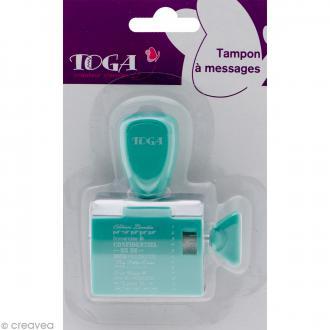 Tampon à molette Toga - Project life Au jour le jour - 12 messages et motifs