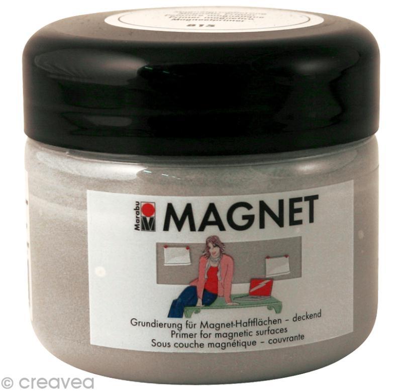 Peinture Aimantee Transparente #11: Peinture Magnétique 225 Ml - Photo N°1