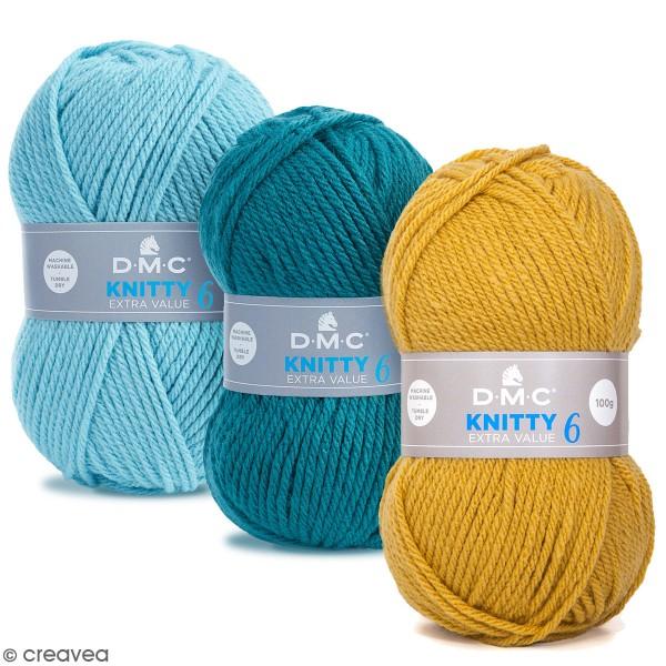 Laine Knitty 6 DMC - 100 g - Photo n°1