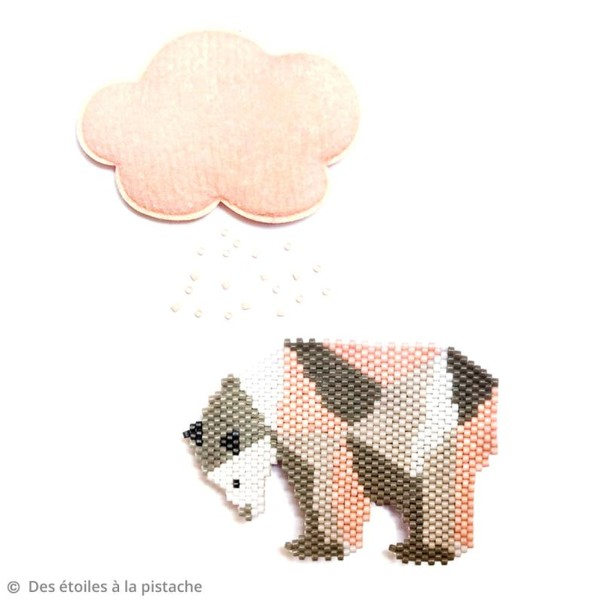 Perles Miyuki Delica 11/0 - Lined Rose Pink AB - 5g - Photo n°6