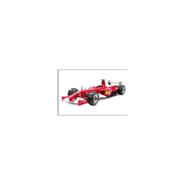 Miniature Ferrari F2003-GA F1 Barrichello 2 2003 - Echelle 1/18 - Hotwheels - Photo n°1