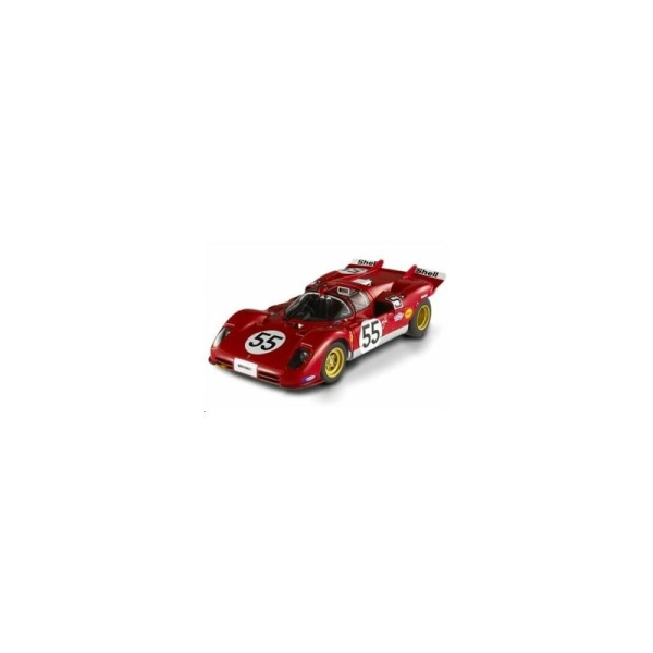Miniature Ferrari 512S Surtees 55 Nurburgring 1970 - Echelle 1/18 - Hotwheels - Photo n°1