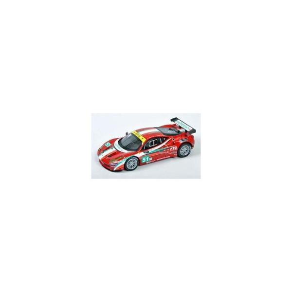 Miniature Ferrari 458 Italia GT2 - 24h du Mans 2011- Team AF Corse - Echelle 1/43 - Hotwheels - Photo n°1