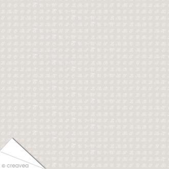 Papier Artepatch Charme - Monogrammes - 40 x 50 cm