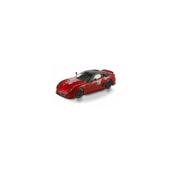 Miniature Ferrari 599XX rouge - Echelle 1/43 - Hotwheels - Photo n°1