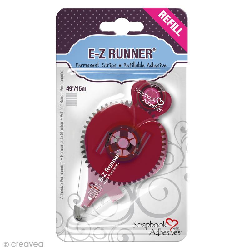 Recharge adhésive E-Z Runner - Bande Rayures - 15 m - Photo n°1