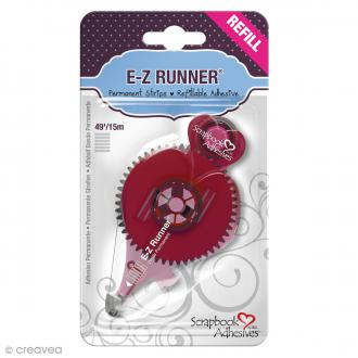 Recharge adhésive E-Z Runner - Bande Rayures - 15 m