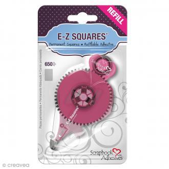 Recharge adhésive E-Z Squares - Bande Rectangle  - 650 pcs