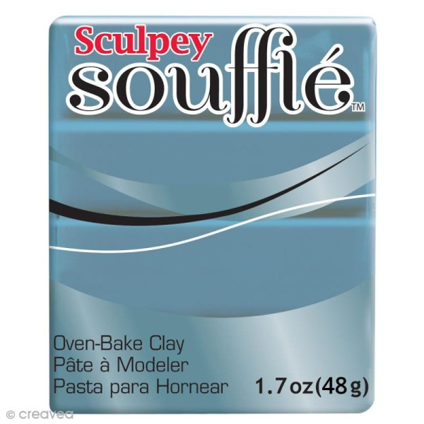 Pâte Sculpey Soufflé - Gris Bluestone - N° 6003 - 48 g - Photo n°1