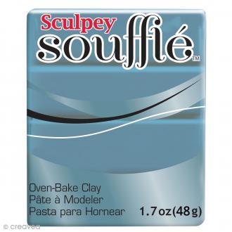 Pâte Sculpey Soufflé - Gris Bluestone - N° 6003 - 48 g