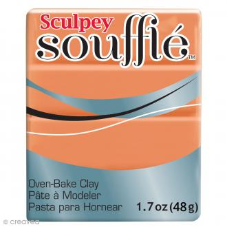 Pâte Sculpey Soufflé - Orange Pumpkin - N° 6033 - 48 g