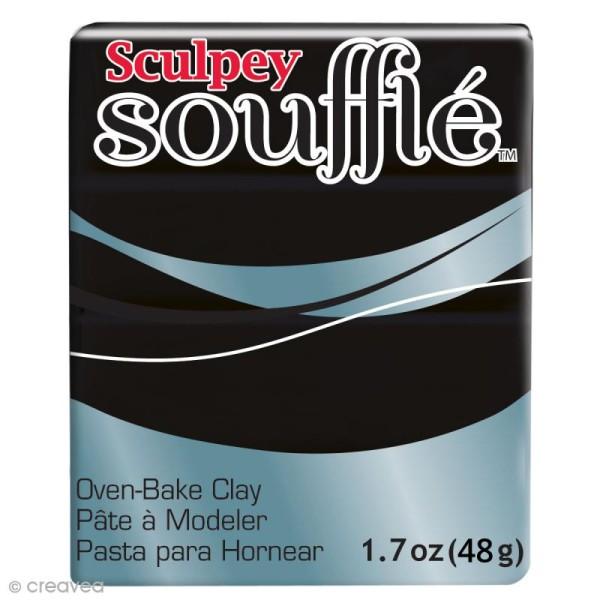 Pâte Sculpey Soufflé - Noir Poppy Seed - N° 6042 - 48 g - Photo n°1
