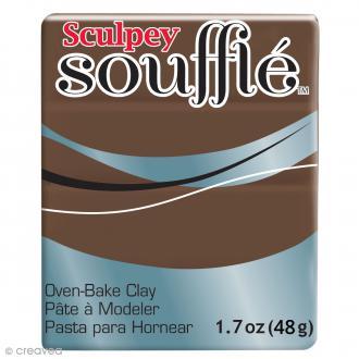 Pâte Sculpey Soufflé - Marron Cowboy - N° 6053 - 48 g