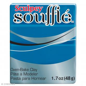 Pâte Sculpey Soufflé - Bleu Lagoon - N° 6063 - 48 g